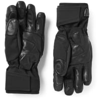 KjusBt 2.0 Bluetooth Leather-trimmed Twill Gloves - Black