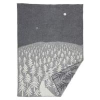 Klippan YllefabrikHouse in the forest ullfilt grå