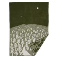 Klippan YllefabrikHouse in the forest ullteppe grønn