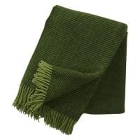 Klippan YllefabrikLinus ullpledd grønn