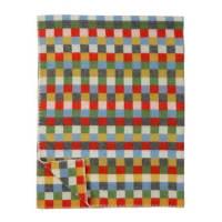 Klippan YllefabrikPixie wool blanket multi