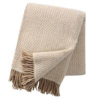 Klippan YllefabrikTango wool throw beige