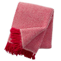 Klippan YllefabrikTango wool throw pink