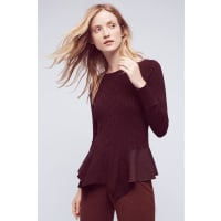 Knitted & KnottedAudrey Peplum Pullover