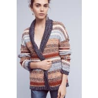 Knitted & KnottedMichela Striped Cardigan
