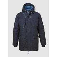 Knowledge Cotton ApparelHeavy Parca Jacket Total Eclipse dunkelblau 100% Baumwolle