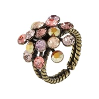 KonplottMAGIC FIREBALL Ring beige/pink
