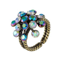 KonplottMAGIC FIREBALL Ring green/purple