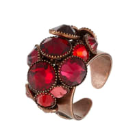 KonplottWATERFALLS Ring red/dark rose