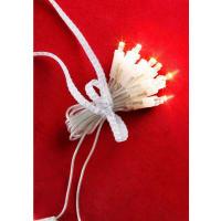KonstsmideLED Mini-Lichterkette, weiß, transparent