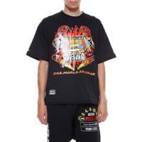 KTZPinball printed cotton t-shirt, size XS, Nero