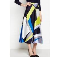 L.k. BennettAmina Printed Full Skirt - Multi, Size 12