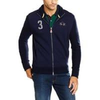 La MartinaHerren Sportkapuzenpullover Man Full Zip Fleece Fleece