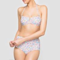 La RedouteBedrukte hoge bikinislip