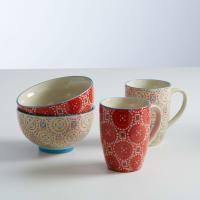 La Redoute InterieursCoffret bols et mugs, lot de 4