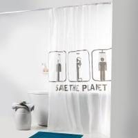 La Redoute InterieursTenda da doccia SAVE THE PLANET