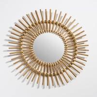 La Redoute InterieursVintage spiegel in zon model, Nogu