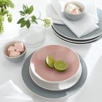 La Redoute InterieursSet van 4 platte borden met motief van rijstkorrel