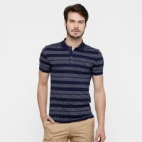 LacosteCamisa Polo Lacoste Piquet Listras - Masculino