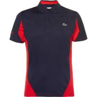 LacosteTwo-tone Cotton-piqué Polo Shirt - Navy