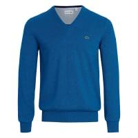 LacosteV-ringad tröja från Lacoste blå