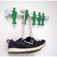 LADPOffside krokrekke hvit-grønn