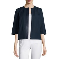 Lafayette 148 New YorkAthea Knit Cropped Topper Jacket