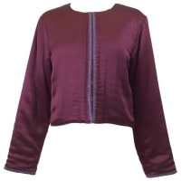 Lanvin1980s Lanvin Silk Bolero Jacket