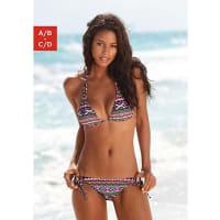 LascanaDamen LASCANA Triangel-Bikini bunt Cup C/D