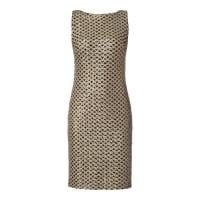Lauren Ralph LaurenCocktailkleid mit Pailletten-Besatz