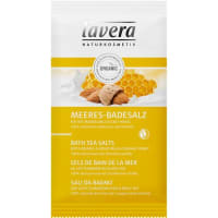 LaveraKörperpflege Body SPA Bio-Mandelmilch & Bio-Honig Meeres-Badesalz 80 g