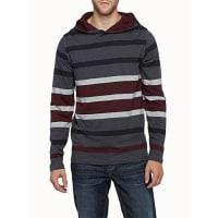 Le 31Block stripe hooded T-shirt