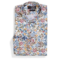 Le 31Botanical shirt Semi-tailored fit