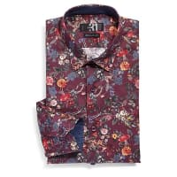 Le 31Fall painting shirt Semi-tailored fit