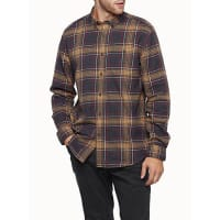 Le 31Heritage check flannel shirt Regular fit