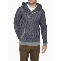 Le 31Heritage heathered hoodie
