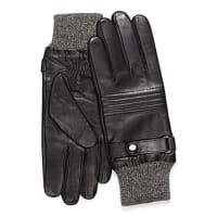 Le 31Mixed media moto gloves
