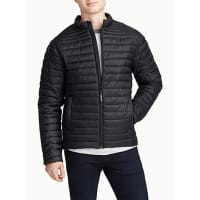 Le 31High-collar quilted jacket