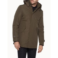 Le 31Quilted lining 3-in-1 raincoat
