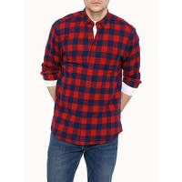 Le 31Buffalo check flannel shirt Semi-tailored fit