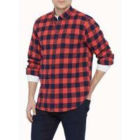 Le 31Buffalo check flannel shirt Semi-tailored fit