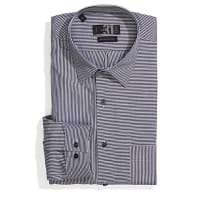 Le 31Twin stripe shirt Semi-tailored fit