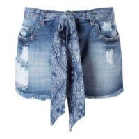Le Lis Blanc DeuxShort jeans Marcia - azul