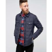 LeeDarkness - Camicia giacca trapuntata blu navy - Blu navy