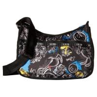 LeSportsacClassic Hobo Bag (Chalkboard Snoopy) Cross Body Handbags