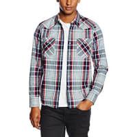 Levi'sBARSTOW WESTERN, Camisa Hombre, Multicolor (C34568 GRANDIFLORA DARK INDIGO PLAID MT_PD162277), Medium
