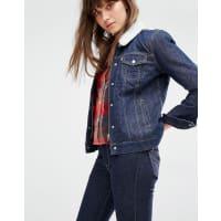 Levi'sGiacca di jeans comoda con collo in sherpa - Blu
