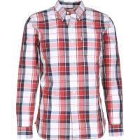 Levi'sSunset 1 Pocket Camisa de manga larga blanco rojo a cuadros