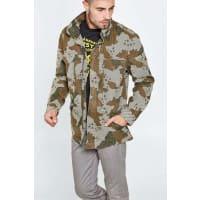 Levi'sSurchemise Levis Field Coat Camo Kaki Homme