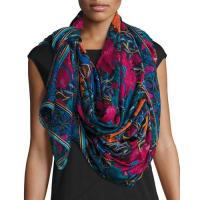Liberty LondonCanterbury Floral Silk Chiffon Scarf, Multicolor